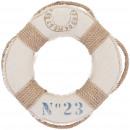 Fabric ring Maren, D25cm, natural